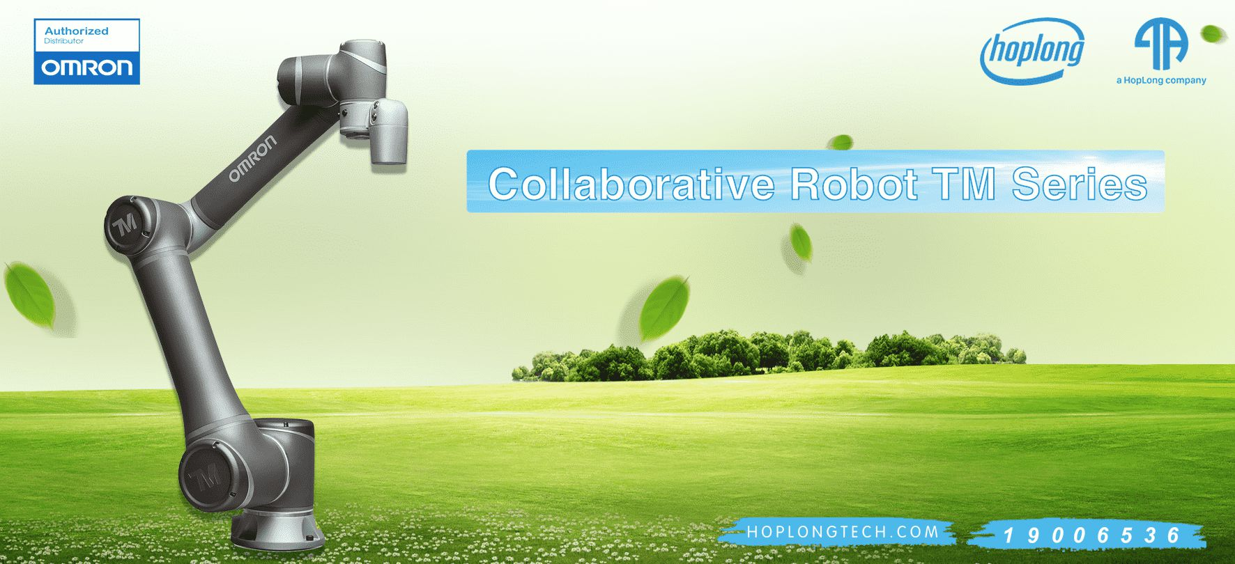 [ OMRON- Giới Thiệu ] Collaborative Robot TM Series